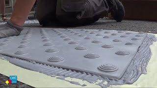 Comment coller les bandes podotactiles LABRADOR MTA extérieures