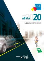 Tarif ADVIA 2020 - Marquage adhésif préfabriqué