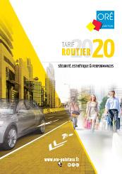 Tarif routier 2020