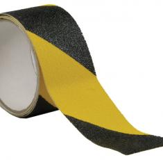 Ruban antidérapant RUBAGRIP noir et jaune