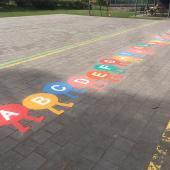 Chenille alphabet T LUDO - Ecole à Transinne (BE)
