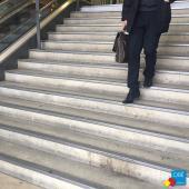 NEZ DE MARCHE GECKO INOX GT - Escaliers Gare Montparnasse
