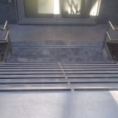 Profil plat ALU XP40 - Escalier à Strasbourg (67)
