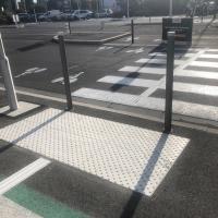 Bande d'aide à l'orientation MILAN MTA blanches avec bandes podotactiles - Nice (06)